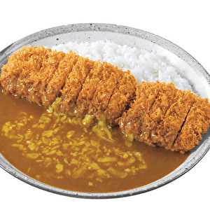 ○DX手仕込豚ヒレ勝つカレー弁当+チーズ