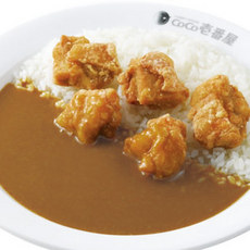 Fried chicken curry/フライドチキンカレー弁当