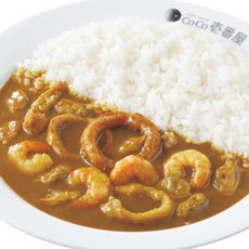 Seafood curry/海の幸カレー弁当