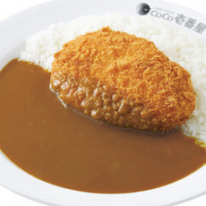 Shrimp cutlet curry/エビカツカレー弁当