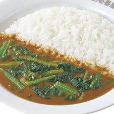 Spinach curry/ほうれん草カレー弁当