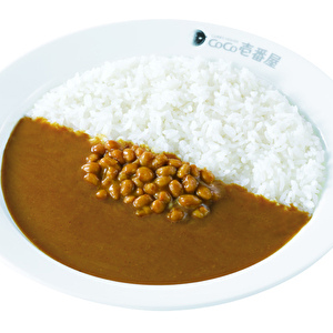 Natto(fermented soy beans)curry/納豆カレー弁当