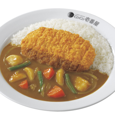 Pork cutlet curry with vegetables/ロースカツ+やさいカレー弁当