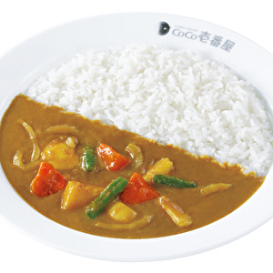 CoCoICHI vegetarian curry with vegetables/ココイチベジカレー弁当+やさい