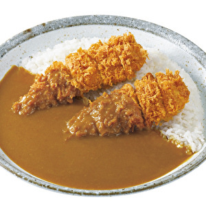 Hand‐made chicken tender cutlet curry/手仕込ささみカツカレー弁当