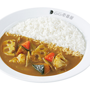 Pumpkin and winter vegetable curry/かぼちゃと冬野菜カレー弁当