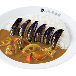 Pumpkin and winter vegetable curry with eggplant/かぼちゃと冬野菜カレー弁当+なす