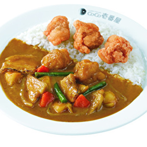 Grand Mother Curry with fried chicken/グランド・マザー・カレー弁当+フライドチキン