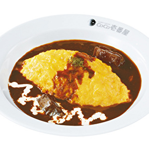 GYU (beef) sauce omelet curry/牛ソースオムカレー弁当