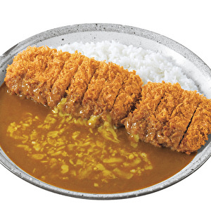 Good Luck Hand-made Pork fillet Hirekatsu curry (deluxe) with cheese/DX手仕込豚ヒレ勝つカレー弁当+チーズ